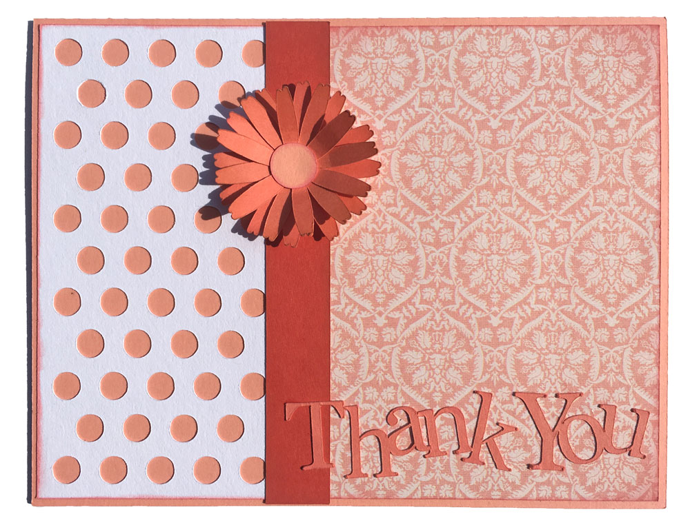 Thank You Card Project Pattern