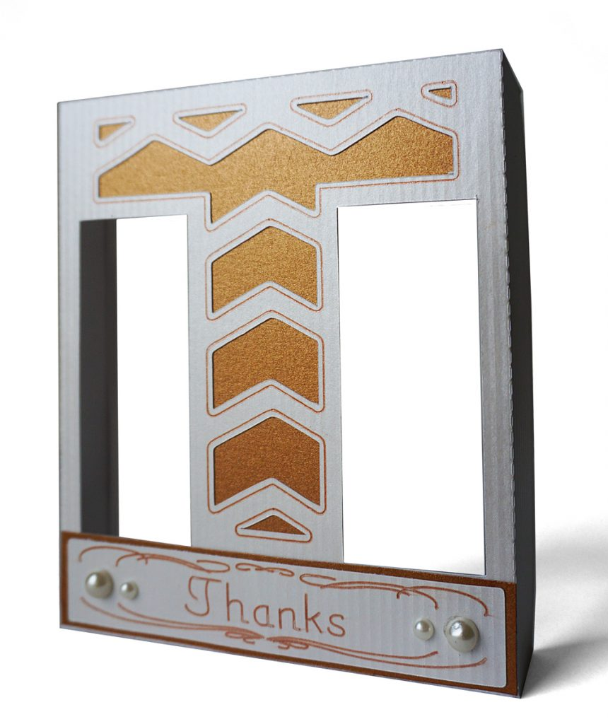 Thanks Hanging Frame with Pen Details by Pazzles