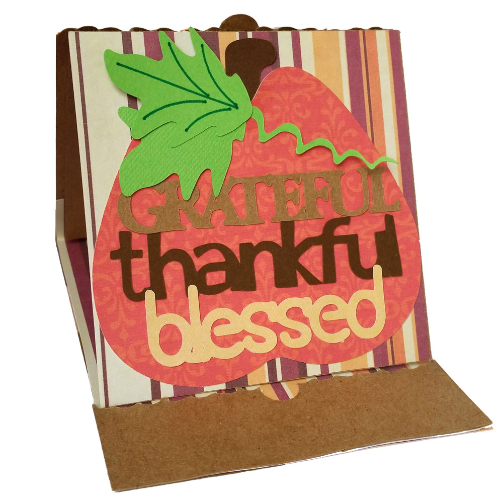 Thanksgiving Easel Card