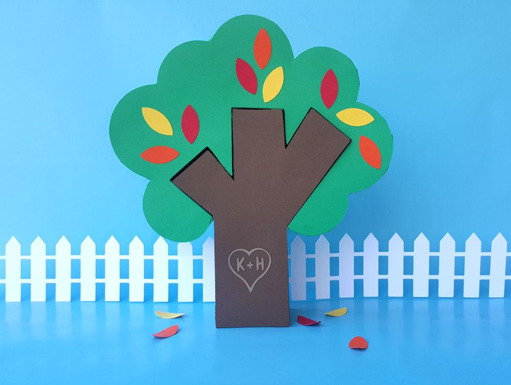 Tree Puzzle Box