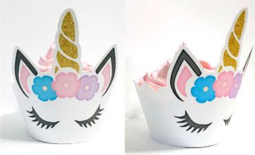 Unicorn Cupcake Wrapper
