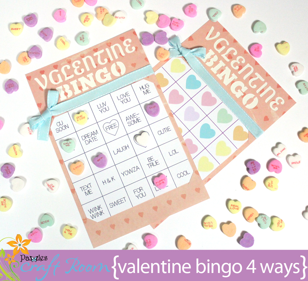 i love the idea of playing bingo with conversation hearts it puts a fun spin on an iconic candy treat so off i went to the grocery store and bought two