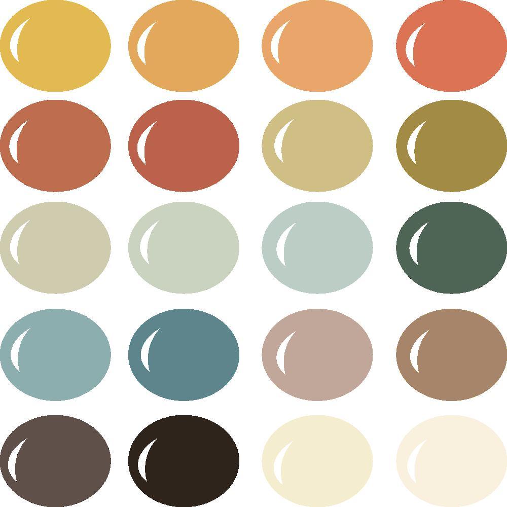 InVue Color Palette: Vintage Halloween
