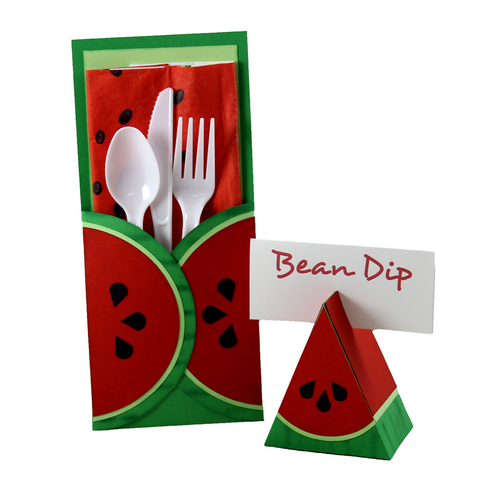 Watermelon Paper Picnic Party Set