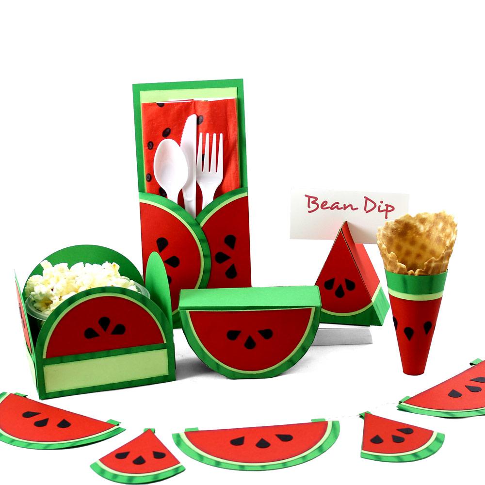Watermelon Paper Party Set