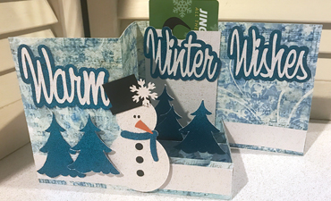 Winter Scene Pop Up