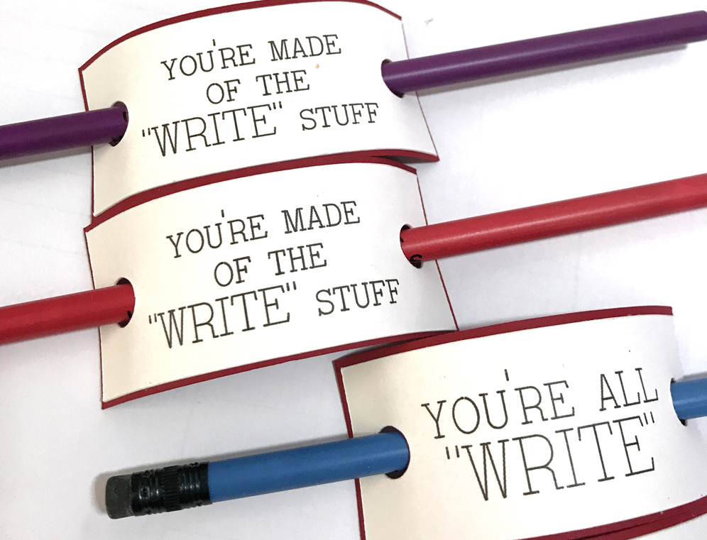 The WRITE Stuff Valentine